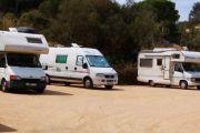 Es tanquen les àrees d'autocaravanes de Sant Feliu de Guíxols