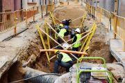 S'aturen uns dies les obres del carrer Girona