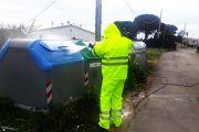 Es desinfecten els contenidors d'escombraries de la ciutat