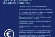 L'Ajuntament de Sant Feliu de Guíxols activa un paquet de mesures econòmiques per ajudar la ciutadania i els negocis locals mentre dura l'emergència pel coronavirus