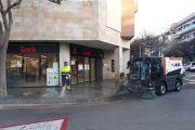 L'Ajuntament adopta mesures d'higiene a la ciutat per evitar el propagament del COVID-19