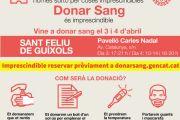 Èxit rotund de les incripcions per donar sang a Sant Feliu de Guíxols
