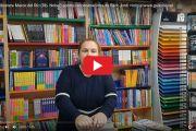Floristes i llibreters de Sant Feliu relaten com viuen la setmana de Sant Jordi i recomanen obres a per llegir